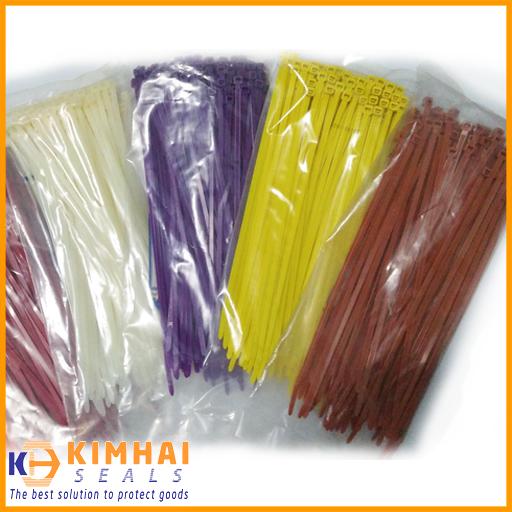 dây rút nhựa nhiều màu