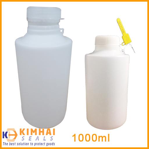 bình nhựa đựng mẫu